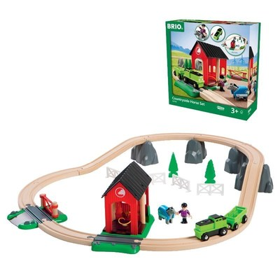 Brio(R) Countryside Horse Set - NEW for 2016