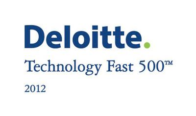 Deloitte Technology Fast 500 2012 Logo.  (PRNewsFoto/SNAP Interactive, Inc.)