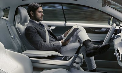 Concept 26, delivering the luxury of time (PRNewsFoto/Volvo Car Group) (PRNewsFoto/Volvo Car Group)