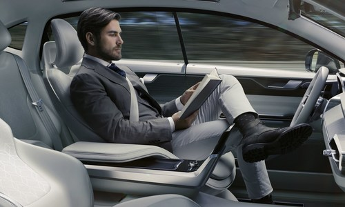 Concept 26, delivering the luxury of time (PRNewsFoto/Volvo Car Group)