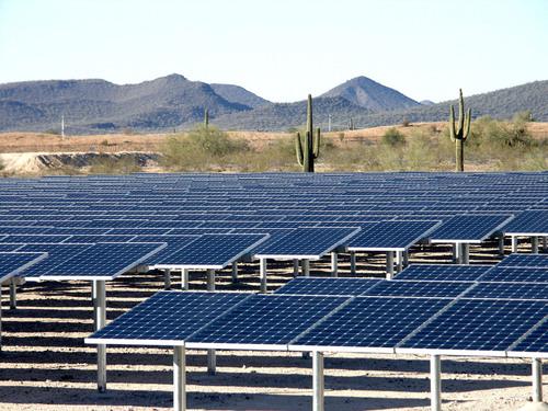 Phoenix water treatment goes solar