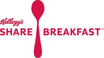 Join Kellogg's and Taye Diggs to Share 1 Million Breakfasts with Children in Need.  (PRNewsFoto/Kellogg Company)