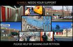 Keep U-Haul in Rockville: Petitioning the Montgomery County Department of Transportation.  (PRNewsFoto/U-Haul)