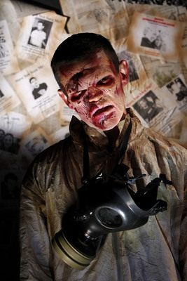 """The ScareHouse, one of America's Best Haunted Houses, presents a new haunted attraction this October: PITTSBURGH ZOMBIES. https://www.scarehouse.com The ScareHouse has been ranked as one of the country's best haunted houses by the editors of Haunted Attraction magazine: the haunted attraction industry's leading trade publication. The recently released list once again ranks """"Pittsburgh's Ultimate Haunted House"""" at #3 on the list of 25 """"Must See"""" haunted attractions in America. The ScareHouse was also recently voted the #1 haunted house in the world by visitors to TopHaunts.com and as one of America's Top 3 haunts on HauntedHouseRatings.com."""