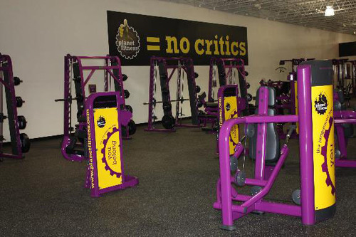 Planet Fitness Southgate Club No Critics Area. (PRNewsFoto/Planet Fitness) (PRNewsFoto/PLANET FITNESS)
