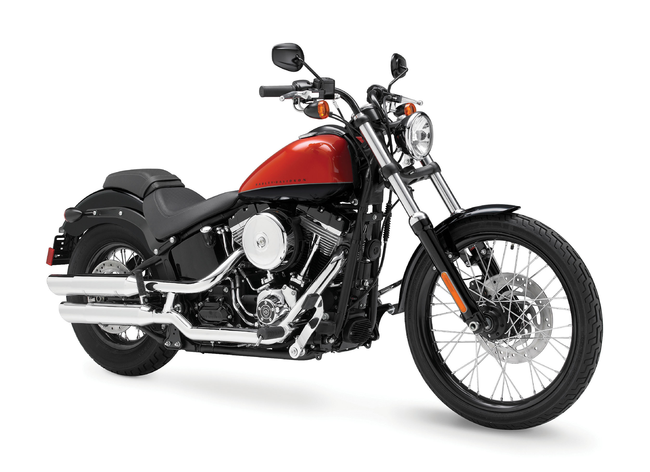 The new Harley-Davidson Blackline motorcycle.  (PRNewsFoto/Harley-Davidson Motor Company)