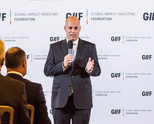 Austria and UNIDO sign Joint Declaration to support Global Impact Investment Foundation Major milestone for Impact Investment and Social Entrepreneurship achieved GIIF President Alon Shklarek (PRNewsFoto/GIIF)