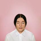 Marina Abramovic, The Current, 2013, Fine art pigment print on cotton paper, 17 x 17 inches, Edition of 300, Courtesy of the Elton John AIDS Foundation and the Marina Abramovic Institute.  (PRNewsFoto/Elton John AIDS Foundation)