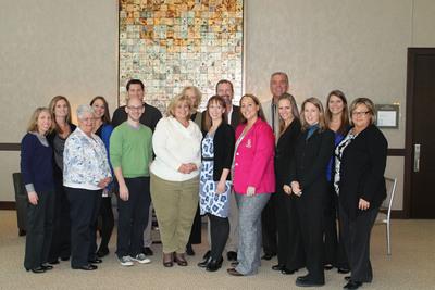 Cruise Holidays Headquarters Team, Minneapolis, Minnesota.  (PRNewsFoto/Cruise Holidays)