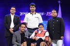 PR NEWSWIRE INDIA - (L-R) Dr Akshay Batra; M S Dhoni; Rajiv Bajaj; Hridayeshwar Singh Bhati; Dr Mukesh Batra (PRNewsFoto/Dr Batra's)