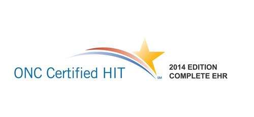 MaximEyes EHR Software Receives 2014 ONC HIT Complete EHR Certification. (PRNewsFoto/First Insight Corporation)