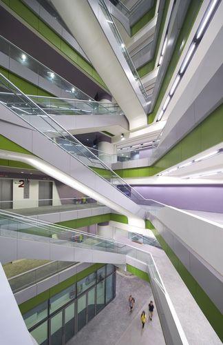 The new SUTD demonstrates Ben van Berkel / UNStudio's approach to New Campus designPhotos: (c) Hufton+Crow (PRNewsFoto/UNStudio)