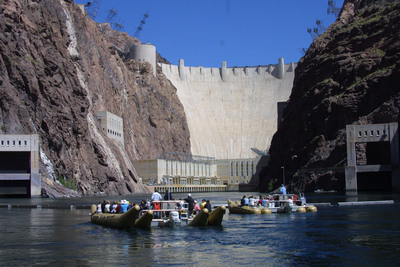 Black Canyon River Rafting Adventures depart near the base of Hoover Dam.  (PRNewsFoto/Forever Resorts)