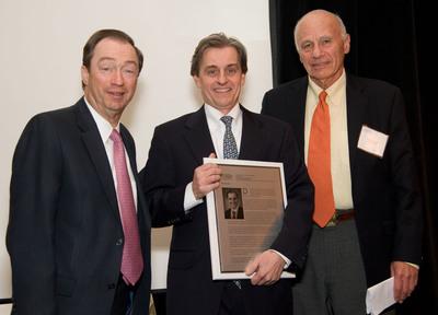 Kevin J. Tracey, President of the Feinstein Institute, is Inducted into the Long Island Technology Hall of Fame.  (PRNewsFoto/The Feinstein Institute for Medical Research)