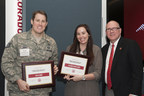 CTU annually awards 50 college scholarships to wounded soldiers, veterans and spouses (PRNewsFoto/Colorado Technical University)