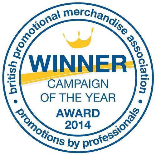 Fluid Branding winner of BPMA campaign of the year award 2014 (PRNewsFoto/Fluid Branding)