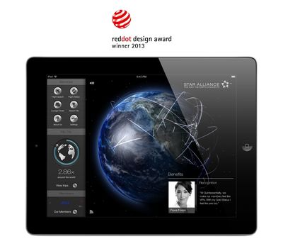 New Star Alliance Navigator for iPad App