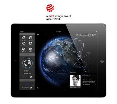New Star Alliance Navigator for iPad App (PRNewsFoto/Star Alliance)