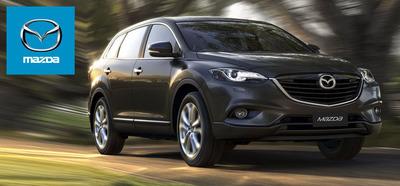The 2014 Mazda CX-9 crossover is available in Miami at Ocean Mazda.  (PRNewsFoto/Ocean Mazda)