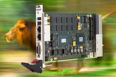 Robust CompactPCI PlusIO SBC with 3rd Generation Intel Core i7 Processor Available from MEN Micro.  (PRNewsFoto/MEN Micro Inc.)