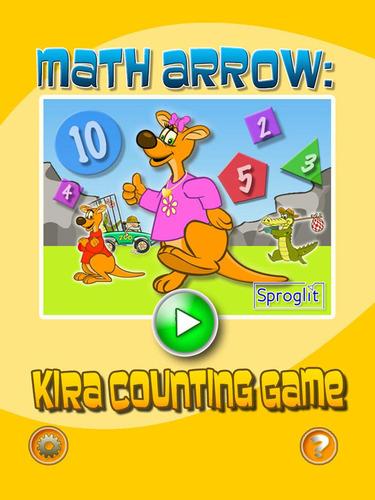 Kira Counting Game. (PRNewsFoto/Sproglit LLC) (PRNewsFoto/SPROGLIT LLC)