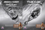 USA Swimming Athletes Tyler Clary And Jessica Hardy Dive Into New National Built With Chocolate Milk™ Campaign