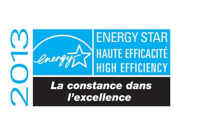 ENERGY STAR Excellence logo.  (PRNewsFoto/Whirlpool Canada)