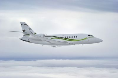 The new 3,350 nm Falcon 2000S receives EASA certification