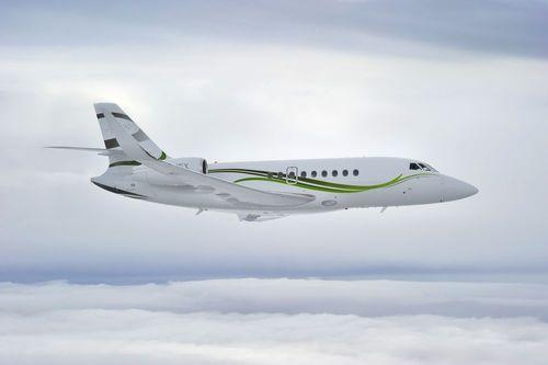 The new 3,350 nm Falcon 2000S receives EASA certification (PRNewsFoto/Dassault Falcon)