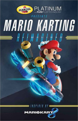 Pennzoil(R) is proud to present Mario Karting Reimagined, a real-world racing experience based on the highly anticipated Mario Kart™ 8 video game for Wii U™, brought to life on the grounds of SXSW Interactive.