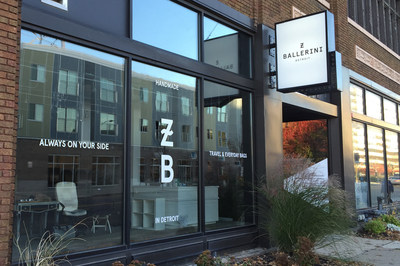 ZBALLERINI Opens its First-Ever Holiday Pop-Up Store in Midtown Detroit, November 5, 2015.