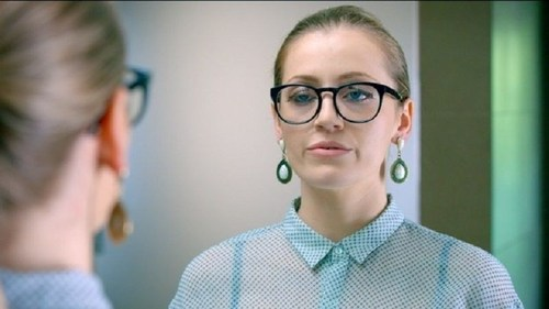 The inability to apply false eyelashes successfully is one of the many reasons why glasses wearers should #TryContacts, according to Vision Direct (PRNewsFoto/Vision Direct) (PRNewsFoto/Vision Direct)
