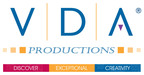 VDA Productions logo.