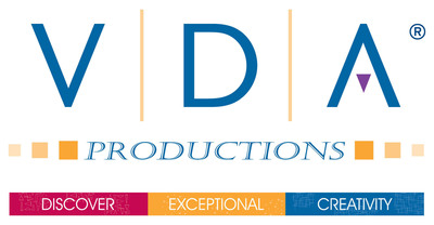 VDA Productions logo. (PRNewsFoto/VDA Productions)