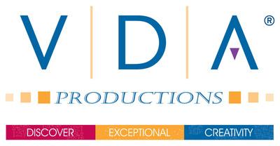 VDA Productions logo. (PRNewsFoto/VDA Productions) (PRNewsFoto/)