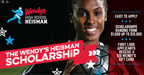 The Wendy's Heisman scholarship application is now open to scholar-athletes graduating with the class of 2017. The first 1,000 students to successfully submit an application will receive a $10 Wendy's gift card and will be one step closer to winning a $1,000-$10,000 scholarship. Applications close on October 3 so visit www.WendysHighSchoolHeisman.com to learn more about the program and access the online application.