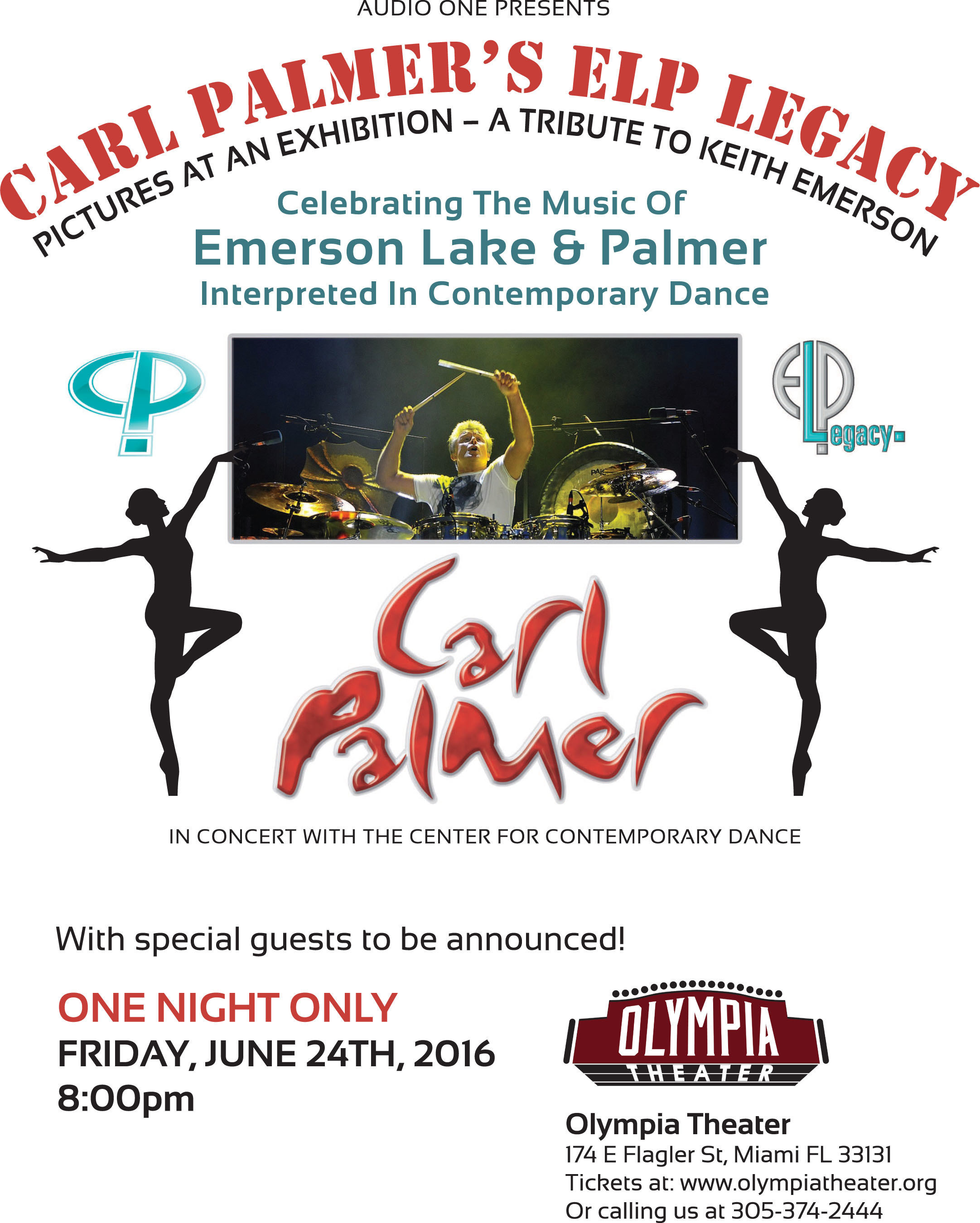 Carl Palmer's ELP Legacy Announces 9th Tour of North America.