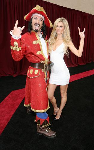 Marisa Miller and Captain Morgan at the Guys Choice Awards - Credit Casey Rogers AP Images for Captain Morgan ...