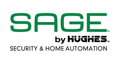 SAGE(TM) by Hughes(TM) is a fully integrated, self-monitoring security and home automation solution that you can use from the comfort of your couch with control from your TV or mobile devices. SAGE makes it easy for you to protect your home and control SAGE-connected devices, all while saving time and money...it's awesome! The SAGE by Hughes system is available to purchase now from SAGEbyHughes.com. (PRNewsFoto/EchoStar Corporation)