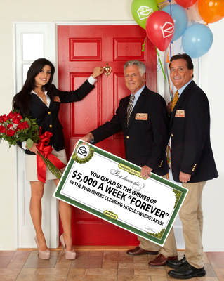 """Publishers Clearing House Announces unprecedented $5,000 a week """"Forever"""" sweepstakes"""