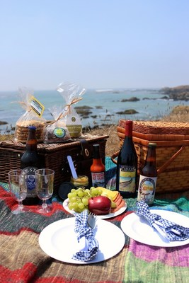 Fill your picnic basket with fresh food, local wine, craft beer and more along the California Highway 1 Discovery Route.