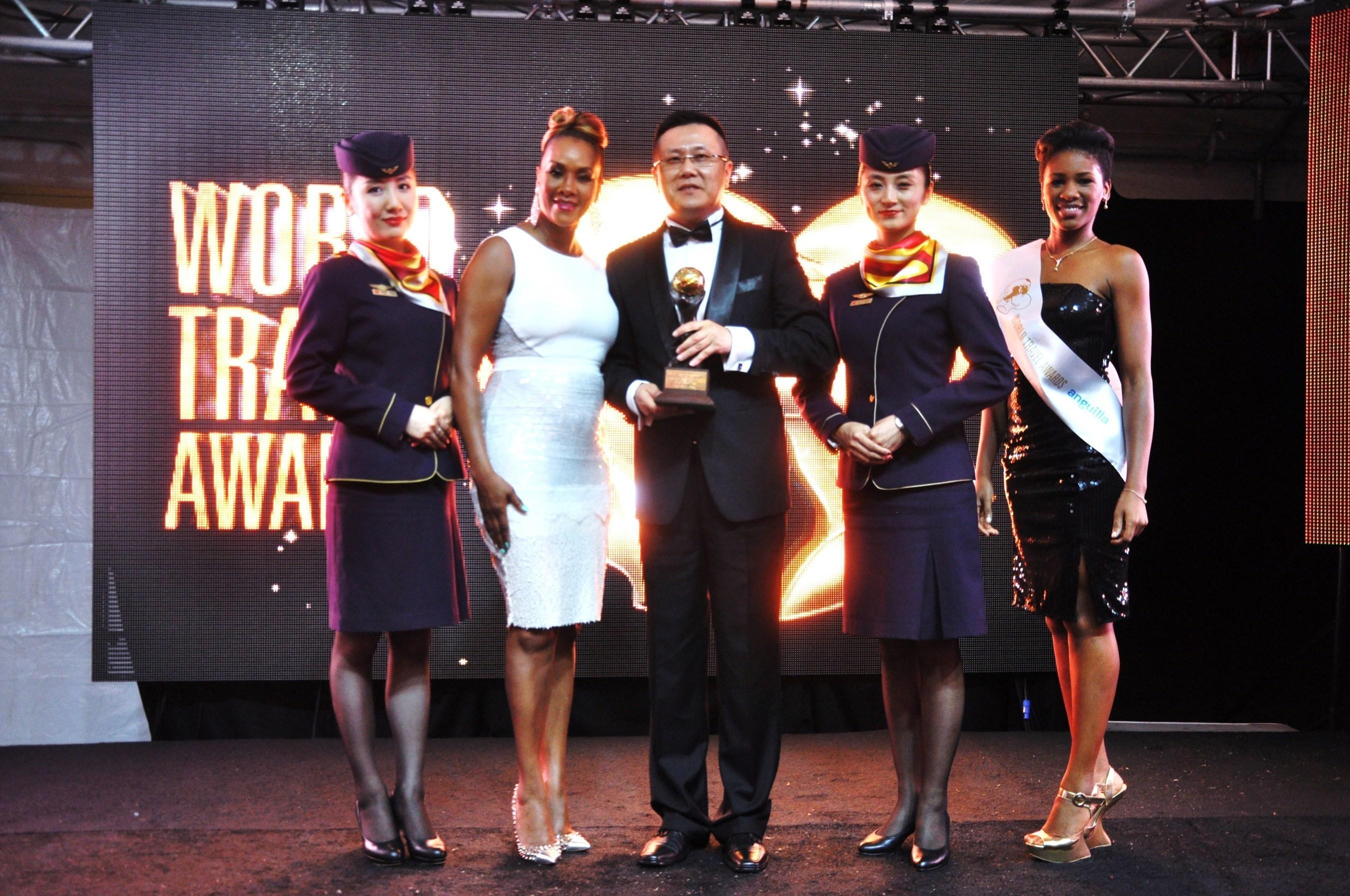 Hainan Airlines bei den WTA als weltweit führende Airline-Business Class 2014 geehrt