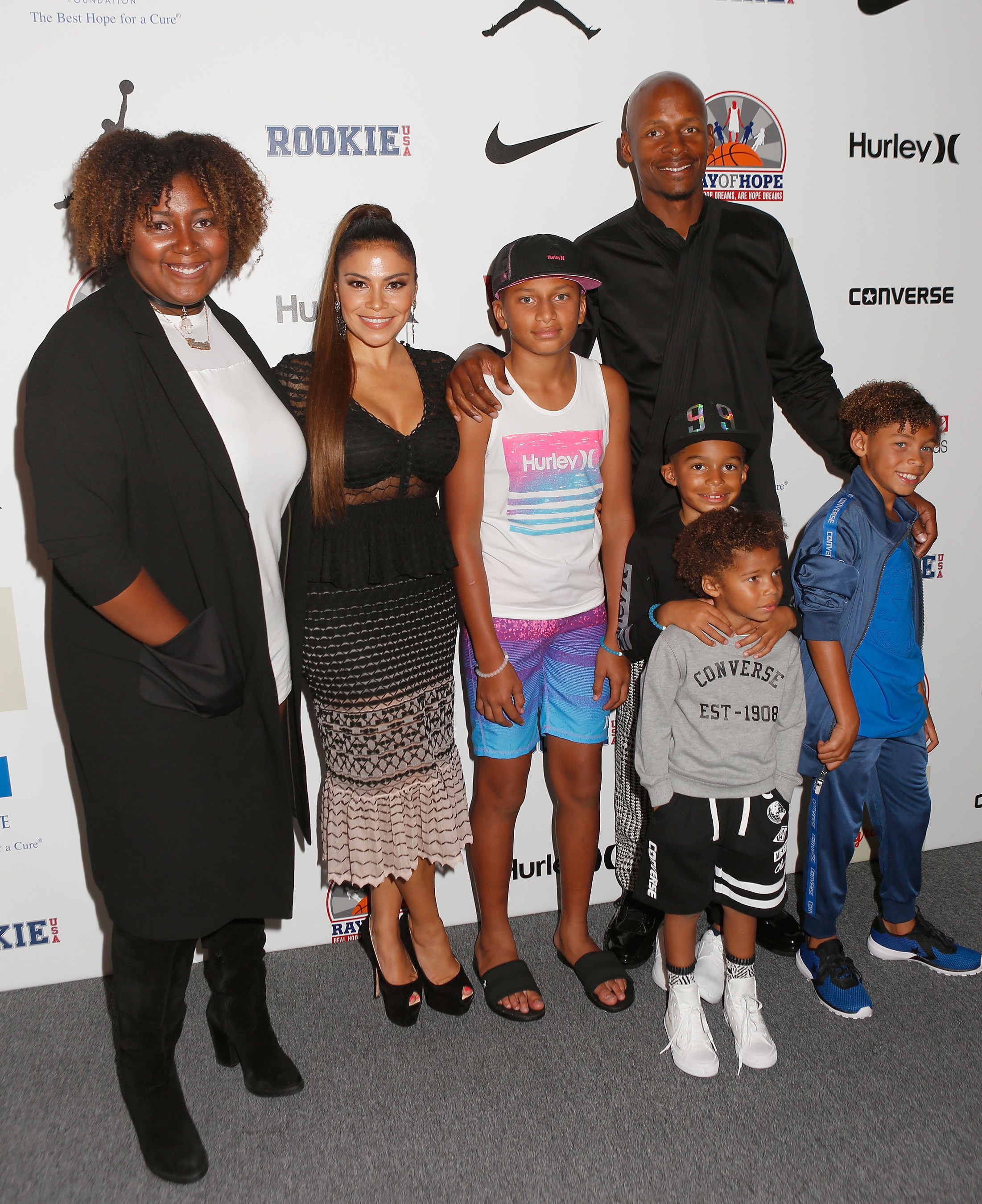 Stylish Kids And Celebs Attend Rookie Usa Fashion Show In Nyc Benefiting Ray Allen S Ray Of Hope Foundation And The Drif