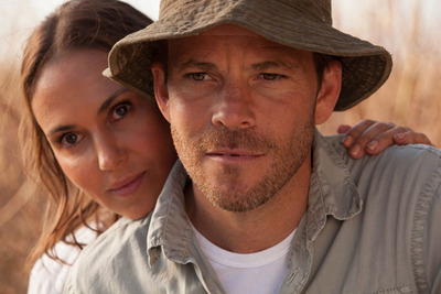Svetlana Metkina and Stephen Dorff.  (PRNewsFoto/Bold Films)