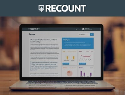 Imagine having A.I. Financial Analytics at hand to tell you exactly what's going on, and explain opportunities to improve your business - whenever you want. That's what Recount provides.