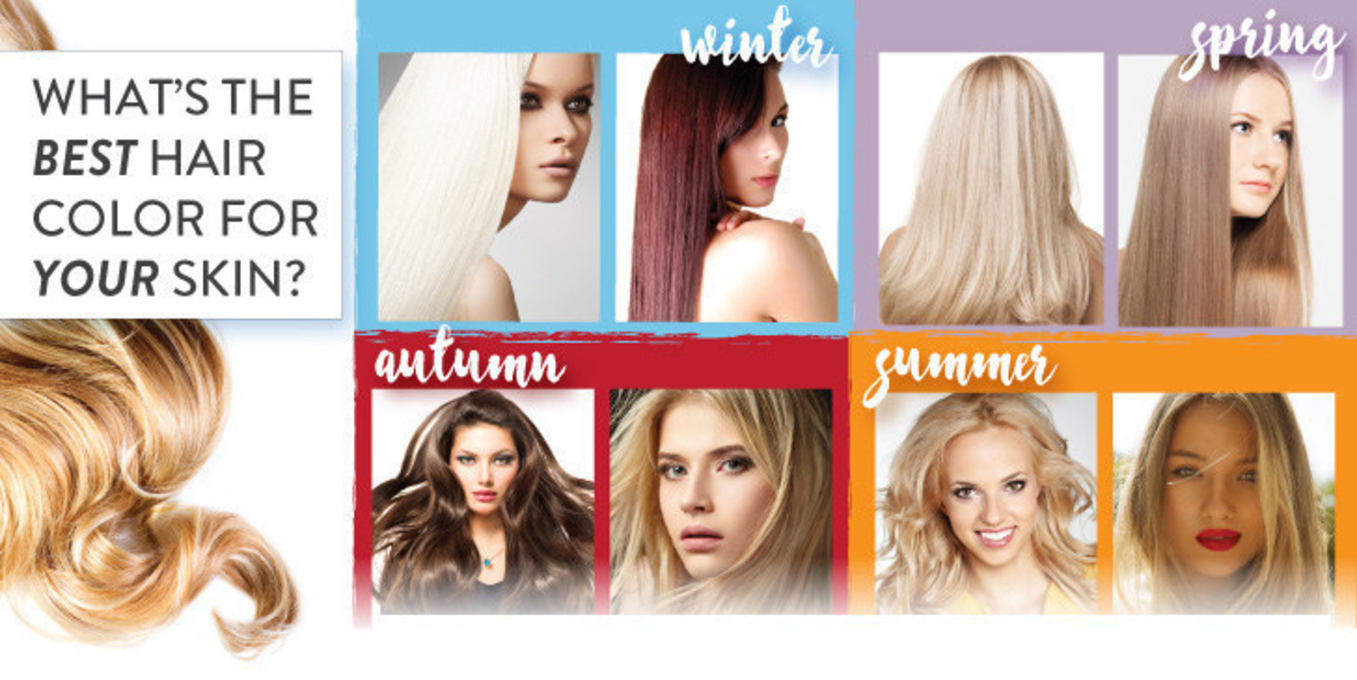 Whats The Best Hair Color For Your Skin Tone Vixen Daily Will Show