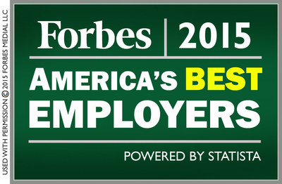 Sterling Global Operations, an international stability operations company, has been recognized by Forbes as one of America's top employers for 2015.
