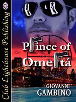 Prince of Omerta Book Cover.  (PRNewsFoto/Giovanni Gambino)