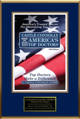 Dr. Constantine Frantzides, Surgery, is named one of America's Top Doctors.