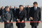 Opening Ceremony of Two New Road Sections in Armenia, Built by Isolux Corsan (PRNewsFoto/Isolux Corsan)